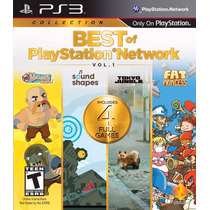 Best Of Playstation Network Psn Vol 1 Ps3 Fisico En Veracruz