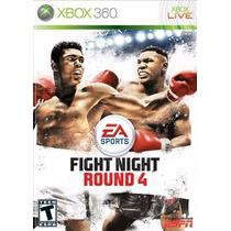 Fight Night Round 4 Xbox 360 Usado Blakhelmet R E
