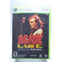 Ac/dc Live Rock Band Track Pack Xbox 360