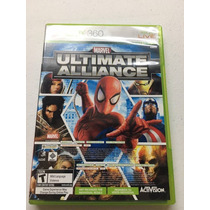 Ultimate Alliance Marvel Seminuevo! Xbox 360 En Igamers