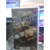 Need For Speed Most Wanted Seminuevo Para Psp En Igamers