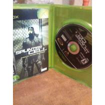 Un Juego Clasico De Xbox Splinter Cell