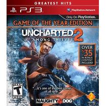 Uncharted 2 Among Thieves Ps3 Videojuego En Caja Sellado