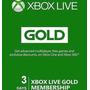 Xbox Live - 3 Dias De Gold (acepto Mercado Pago Y Oxxo)