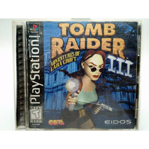 Tomb Raider Iii 3 Playstation Ps1 Completo Ps2 Ps3