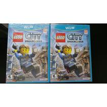 Lego City Under Cover Wii U Nuevo, Sellado