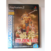 Playstation Ps2 Golden Axe Videogame Japones Anime Fantasia