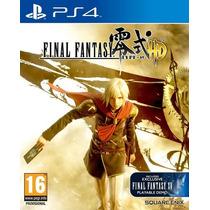 Final Fantasy Type-0 Ps4 + Demo Ffxv 7 Días Zaffron