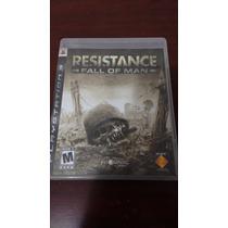 Vendo Resistance Fall Of Man Ps3 Funcionando Al 100