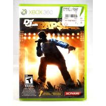 G0406 Xbox 360 Videojuego Videogame Def Jam Rapstar