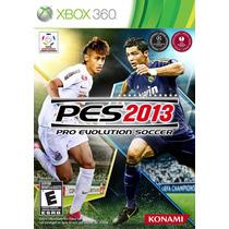 Juego Pes 2013 Para Xbox 360 Nuevo - Blakhelmet Sp