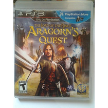 Ps3 The Lord Of The Rings Aragorn´s Quest $250 Seminuevo V/c