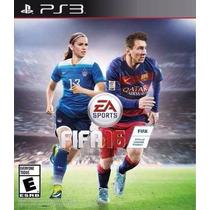 ® Fifa 16 Fifa Soccer 16 Para Ps3 Playsation 3 ®