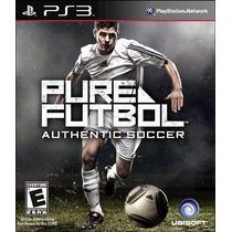 Pure Futbol Ps3 Playstation 3