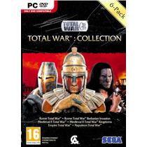 Total War Combo 6 En 1 Físico Medieval Empire Rome Napoleon