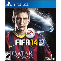 Fifa Soccer 2014 Football Futbol Ps4 Play Station Videojuego