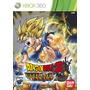 Dragon Ball Z: Ultimate Tenkaichi Xbox 360 Nuevo
