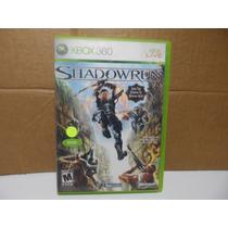 Shadowrun Xbox 360 Totalmente En Español