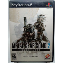 Metal Gear Solid 2 Substance Para Playstation 2 Ps2