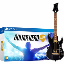 ® Guitar Hero Live + Guitarra Para Ps4 Nuevo Y Sellado ®