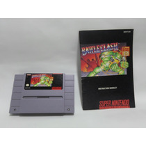 Snes Battle Clash Con Manual Por Nintendo De 1992 Superscope