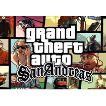 Grand Theft Auto San Andreas Cd-key Steam Digital Pc