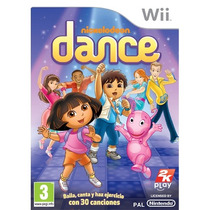 Nickelodeon Dance Nintendo Wii Gaming Dora Backyardingans