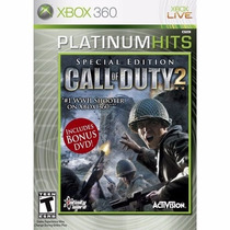 Call Of Duty 2: Special Edition Nuevo Sellado Xbox 360