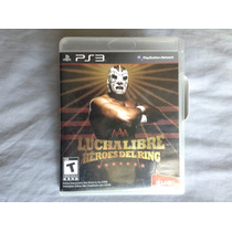 Play Station 3: Lucha Libre Héroes Del Ring
