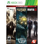 2k Power Pack The Darkness Ii Bioshock 2 Mafia Ii Xbox 360
