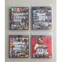 Grand Theft Auto Iv + V + Liberty City + Red Dead - Ps3