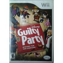 Wii Disney Guilty Party $350 Pesos - Nuevo - Vendo / Cambio