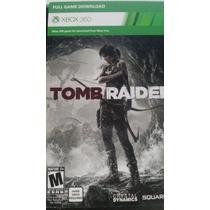Tomb Raider Desc. Xbox360