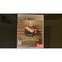Lucha Libre Heroes Del Ring Ps3 Nuevo, Sellado