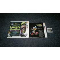 Luigis Mansion Dark Moon Completo Para Nintendo 3ds,checalo