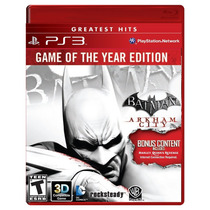 ¡¡ Batman Arkham City Goty Edition Para Ps3 En Wholegames !!