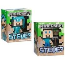 Steve Diamond Minecraft, Edicion Especial 15 Cm