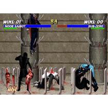 Nintendo 64 Trilogia Mortal Kombat Portada Restaurada