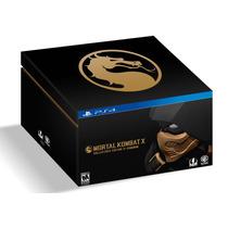 ..:: Mortal Kombat X: Kollectors Coarse ::.. Para Ps4