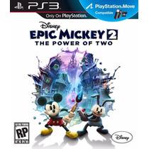Disney Epic Mickey 2 El Poder De 2 Ps3 .:ordex:.