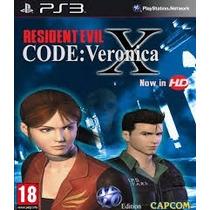 Resident Evil Code Veronica + Resident Evil 3 Nemesis Ps3
