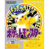Pokemon Amarillo Game Boy Japones