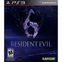 Resident Evil 6 Ps3 :videojuegos Ordex: