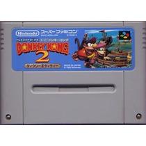 Super Donkey Kong 2 Super Nintendo Japones