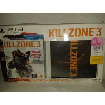 Killzone 3 Ps3 Set Coleccion Con Libro De Arte Seminuevo!!!