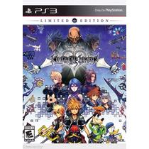 Kingdom Hearts 2.5 Remix Limited Ps3 Nuevo Entrega Express