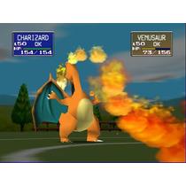 Nintendo 64 Pokemon Stadium Portada Restaurada