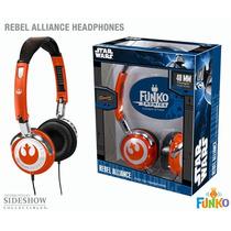 Funko Star Wars Rebel Alliance Headphones Audifonos Disney