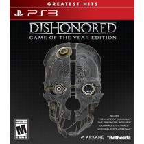 Ps3 - Dishonored Game Of The Year Ed. - Nuevo Y Sellado - Ag