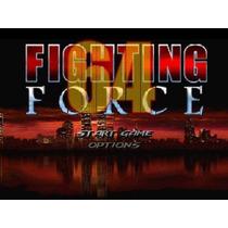 Nintendo 64 Fighting Force 64 Portada Restaurada
